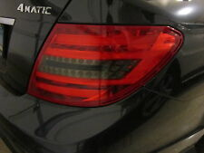 2012 2013 Mercedes C300 C350 C250 Smoked Reverse Light Taillight Overlays tinted