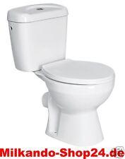 Design Wc Toilette Stand komplett set Spülkasten aus  KERAMIK mit Wc Sitz 3/6L