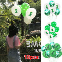 10pcs 12 inch Dinosaur Latex Balloon Children Toys Birthday Party Forest Theme