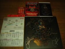 Meshuggah – Violent Sleep Reason signed autographed Catch Obzen Opeth Townsend