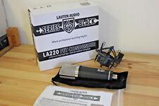 Lauten Audio LA-220 Series Black - Large-Diaphragm Studio Condenser Microphone