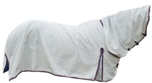Diamond weave Cotton ripstop Combo Summer Cotton Horse Rug 250GSM OLD STOCK