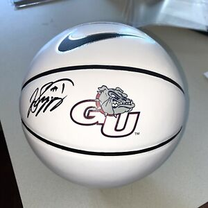 JALEN SUGGS #1 autographed signed GONZAGA BULLDOGS BASKETBALL ZAGS NBA