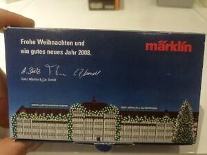 Märklin Spur Z Mini Club Güterwagen Frohe Weihnachten 2008 OVP