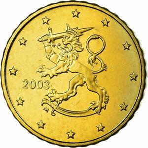 [#700167] Finlande, 10 Euro Cent, 2003, SPL, Laiton, KM:101