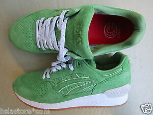 """Concepts X Asics Gel-Respector 44 """"Coca"""" Green/White With OG Box"""