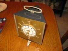 Zenith Golden Triangle Clock Radio for Parts or Repair
