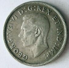 1940 CANADA 25 CENTS - RARE DATE Vintage Silver Coin - Lot #O18