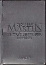 RARE EO VERSION COLLECTOR LUXE BOÎTE MÉTAL GEORGE R.R. MARTIN LE TRÔNE DE FER 1