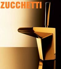 "Zucchetti ""Wosh"" ZW1192.C5 Single Lever Basin Mixer w/Pop-up Waste Set^Platinum^"
