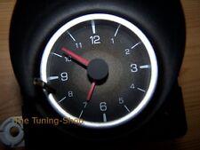 Fits Mitsubishi FTO Chrome Rings For Clock & Volt Surrounds Matt Satin Aluminium