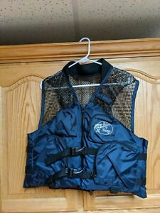NWOT BASS PRO SHOPS Size Small Fishing Mesh Vest & Personal Flotation Device