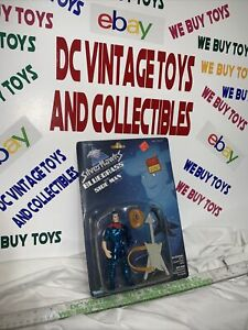 SilverHawks Bluegrass/SideMan Figure, Vintage 1986, Collectible! New! MOSC!!