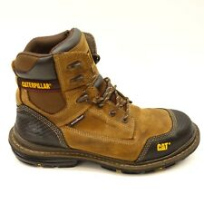 76386ed2e59 Leather Waterproof CAT Work & Safety Boots for Men for sale | eBay