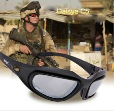 Men's  eyewear Tactical hunting Sunglasses Protective Riding Glasses for airsot