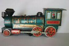 New ListingJapan Vintage Antique Western Tin Toy Train Locomotive