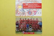 M11/2003 Auflage 2000 Stück Fussball FC Bayern Deutsche Meisterschaft 1985/1986