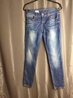 Gap 1969 Women's Jeans Size 27/4 ALWAYS SKINNY Blue
