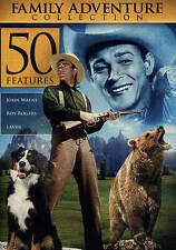 50-Feature Family Adventure Collection (DVD, 2015, 3-Disc Set)