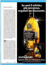 AIRONE984-PUBBLICITA'/ADVERTISING-1984- ANTIQUARY WHISKY
