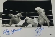 Ric Flair Ricky Steamboat Signed 16x20 Photo BAS Beckett COA WWE WCW Autograph 1