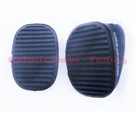 2 Gummi Pedal Pedalabdeckung Bremse und Kupplung Fiat Stilo