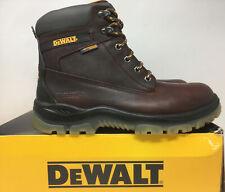 DEWALT Men's Titanium Waterproof Work Boots - Steel Toe - Brown Size 11(W)