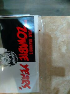 Rare Rare RARE!! The Zombie years for SCARFACE AND ZOMBIE enthusiasts. #1 signed