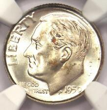 1950-D Roosevelt Dime 10C - Certified NGC MS68 FT - Rare MS68 FB - $1,650 Value!