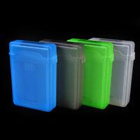 3.5'' inch IDE SATA HDD Hard Drive Disk Plastic Storage Box Case Enclosure GX