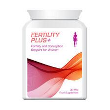 FERTILITY PLUS WOMAN FERTILITY CONCEPTION SUPPORT PILLS FOR WOMEN OVULATION