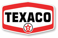 TEXACO V2 SUPER HIGH GLOSS OUTDOOR 4 INCH DECAL STICKER OUTDOOR US MADE