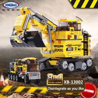 Xingbao Building Blocks Easter Roadworks Automotive Car Model Kits Figur Toys