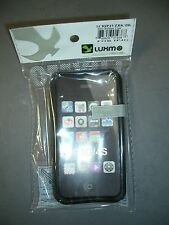 Luxmo Plastic / Rubber Case Cover, Black, Apple iPhone 4 4S 4G New