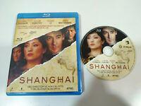 Shanghai John Cusack Chow Yun Fat Gong Li - Blu-Ray + Extras Español