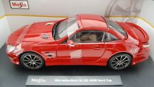 Maisto Mercedes-Benz SL 63 AMG Hard Top 1:18 MB rot A928 36199 Top OVP