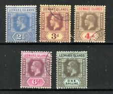 More details for leeward islands 1912-22 values to 1s fu cds