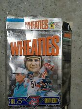 NFL 75th Anniversary collectors edition Wheaties Box