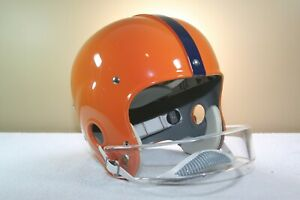 Vtg Riddell SYRACUSE ORANGE Jim Brown Style Suspension RK4 Football Helmet   53