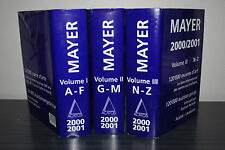 Mayer 2000/2001 - Livre international des ventes aux enchères - Guide Mayer