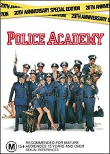 POLICE ACADEMY (Steve GUTTENBERG Kim CATTRALL Bubba SMITH) Comedy DVD Region 4