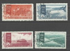 China Prc Sc#326-29, Yellow River Control Plan S19 Cto Nh Ngai