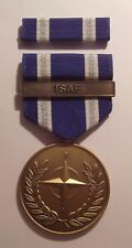 U.S. Non-Article 5 NATO Medal Afghanistan (ISAF Bar) with RIBBON