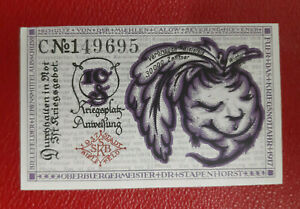 BIELEFELD NOTGELD 10 PFENNIG 1919 EMERGENCY MONEY GERMANY BANKNOTE (14059)