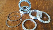 FSA BB30 - Mountain Bike BOTTOM BRACKET BB Bearings (inc circlips + covers) NEW