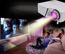 Home Cinema Theater Portable Mini LED LCD Projector 1080P HD HDMI TV USB VGA SD~