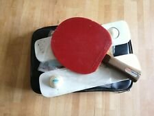 BUTTERFLY OFF JONYER-H-FL racket table tennis ping pong bat Vintage Japan +pouch