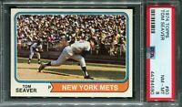 1974 Topps #80 Tom Seaver PSA 8 NM-MT