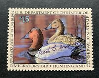 WTDstamps - #RW60 1993 - US Federal Duck Stamp - NG - Signed
