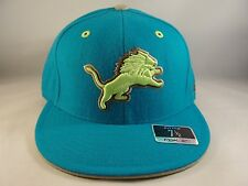 db8f87361c3 NFL Detroit Lions Reebok Size 7 1 2 Fitted Hat Cap Teal